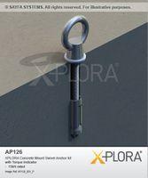 XPLORA Concrete Mount Anchor Point
