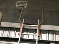THRU-RAIL Ladder Extension Handrails