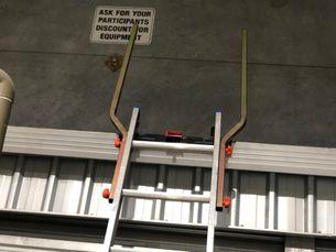 THRU-RAIL Ladder Extension Handrails