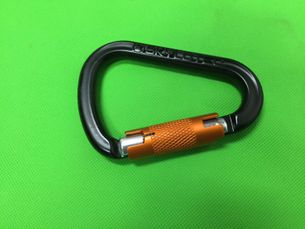 Skylotec Passo TW - 30mm twist lock, BLACK/ORANGE