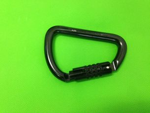 AXIS Triple Lock Wide Mouth Steel 53kN Black