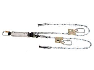 Ferno double rope adjustable lanyard with TAK's