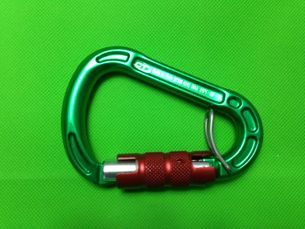 CT Triple Lock Alloy Green/Red  Grey/Blue 23 kN
