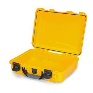 Nanuk 910 Case - Yellow - 15.8 x 12.1 x 6.8 (in.)