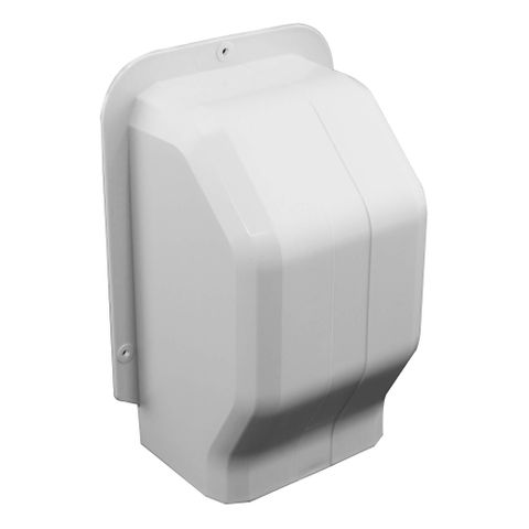 Ezyduct 80mm Wall Cap