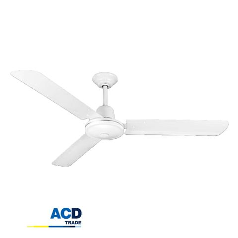 1200mm White J-Hook Ceiling Fan