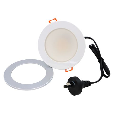 Tesla 10W LED Downlight Cool White 4000K