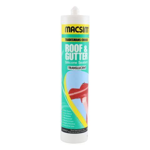 Macsim  Roof & Gutter Grey Silicone
