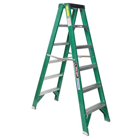 Fibreglass D/Sided 8ft Ladder