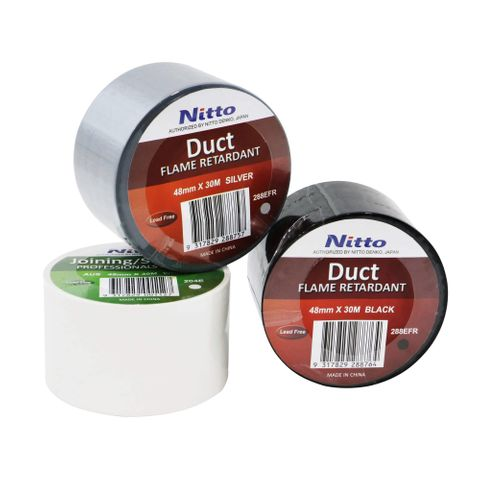 Nitto Duct Tape White (Roll)