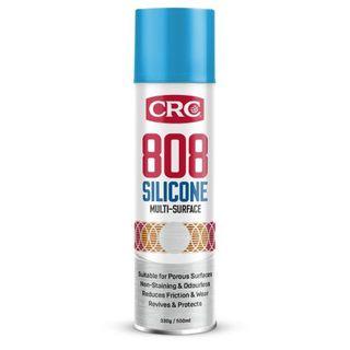 CRC 808 SILICONE SPRAY AEROSOL 500ML EA