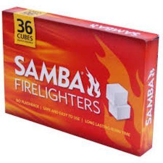 SAMBA ORIGINAL FIRE LIGHTER CUBES PACK/36