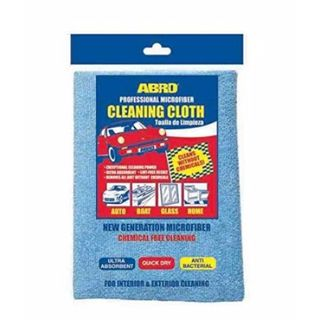 ABRO CLEANING CLOTH MICROFIBER 40x40CM EA