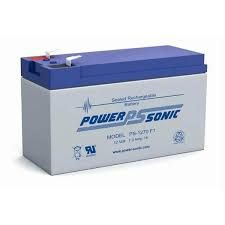 POWER SONIC RECHARGEABLE BATTERY - 7AH 12V 7AH