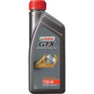 CASTROL GTX ENGINE OIL 15W-40 1L EA