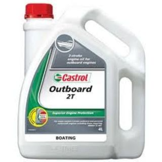 CASTROL OUTBOARD ENGINE OIL 2 STROKE 4L EA