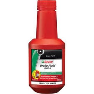 CASTROL BRAKE FLUID DOT 4 500ML EA