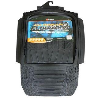 MAT RUBBER HEAVY DUTY 4WD BLACK LARGE (780X600MM) EA