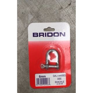 HANDY BITS D SHACKLE 6MM EA