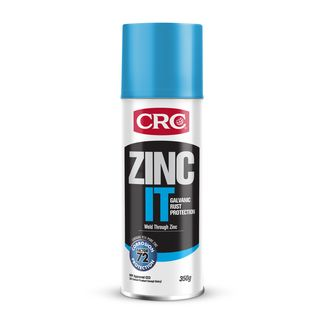 CRC ZINC IT STEEL RUST PROTECTION AEROSOL 350G EA