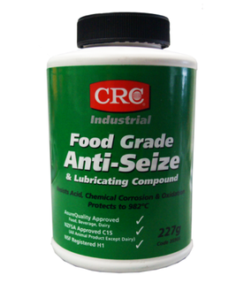CRC INDUSTRIAL ANTISEIZE AND LUBRICATING COMPOUND (FOOD GRADE) BOTTLE 227G EA
