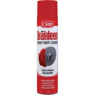 CRC BRAKLEEN HEAVY DUTY BRAKE AND PARTS CLEANER AEROSOL 600G EA