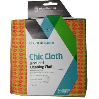 OFERTEX CLEAING CLOTH - CHIC MICROFIBRE PKT/2 30X30CM