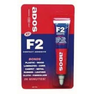 ADOS F2 MULTIPURPOSE CONTACT ADHESIVE TUBE 75ML BL/1