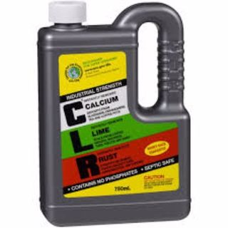 CLR CALCIUM LIME AND RUST REMOVER 750ML EA