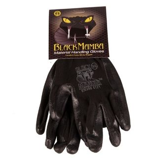 BLACK MAMBA NITRILE GLOVES BLACK XL EA/PAIR