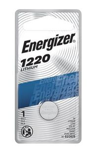 ENERGIZER COIN BATTERY LITHIUM CR1220 3V BL/1