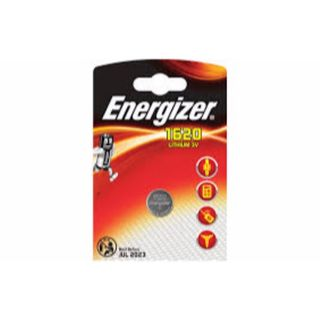 ENERGIZER COIN BATTERY LITHIUM CR1620 3V BL/1
