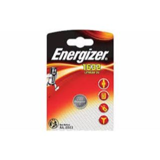 ENERGIZER COIN BATTERY LITHIUM CR1632 3V BL/1
