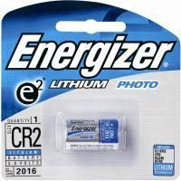 ENERGIZER CAMERA BATTERY LITHIUM CR2 3V BL/1