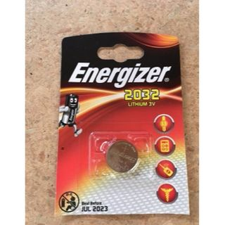 ENERGIZER COIN BATTERY LITHIUM CR2032 3V BL/1