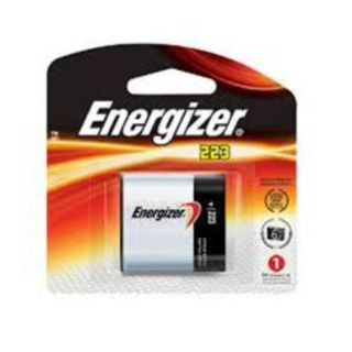 ENERGIZER CAMERA BATTERY LITHIUM CRP2 (223) 6V BL/1