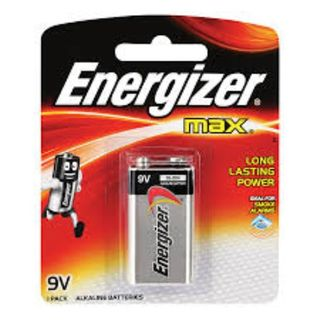 ENERGIZER MAX BATTERY 9V BL/1