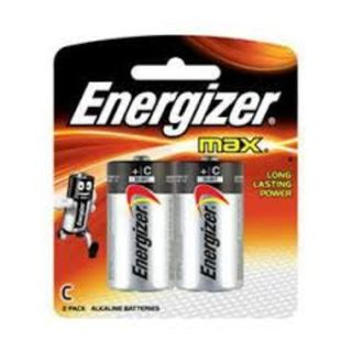 ENERGIZER MAX BATTERY C BL/2