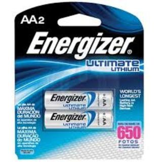 ENERGIZER BATTERY LITHIUM AA BL/2