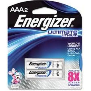 ENERGIZER BATTERY LITHIUM AAA BL/2