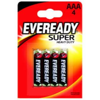 EVEREADY SHD BATTERY AAA/4