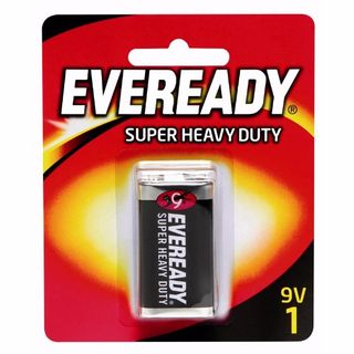 EVEREADY SUPER HEAVY DUTY BATTERY 9V BL/1