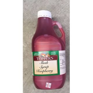 SLUSH SYRUP RASPBERRY 2L BOX/6
