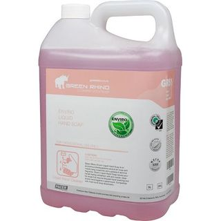 GREEN RHINO ENVIRO LIQUID HAND SOAP JASMINE SCENTED (GRS1-5) 5L EA