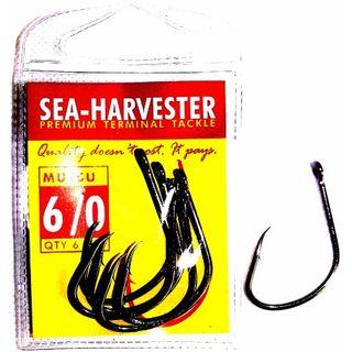 SEA HARVESTER MUTSU BLACK HOOK 6/0