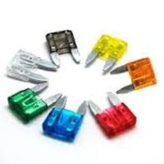 MINI BLADE FUSES 10A RED