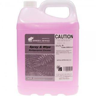 GREEN RHINO SPRAY & WIPE DISINFECTANT - GRK14 5L