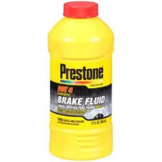 PRESTONE SYNTHETIC BRAKE FLUID DOT 4 355ML EA