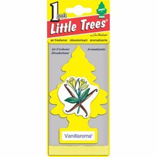 AIR FRESHENERS LITTLE TREES VANILLAROMA BL/1