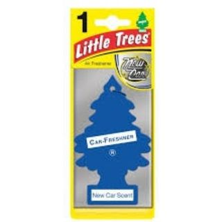 AIR FRESHENERS LITTLE TREES NEW CAR BL/1